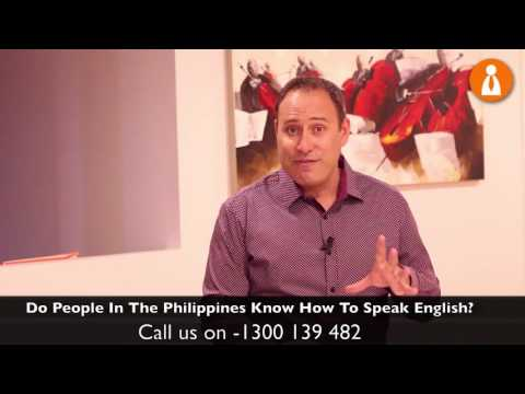 FAQ - Do People In The Philippines Speak English?
