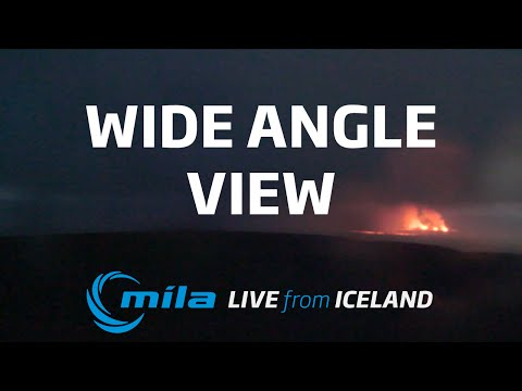 Live view from Bárðarbunga volcano in Iceland