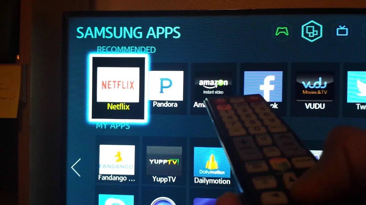 Samsung Smart Tv Netflix