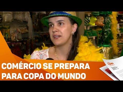 Comércio se prepara pra Copa do Mundo - TV SOROCABA/SBT