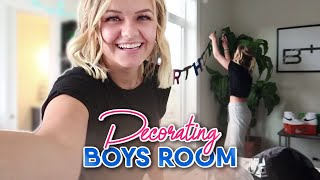 SURPRISING A BOY AND DECORATING HIS ROOM || KESLEY JADE LEROY