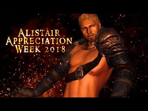 Dragon Age: Alistair Appreciation Week 2018