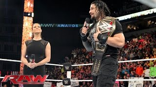 Stephanie McMahon wipes the smile off Roman Reigns
