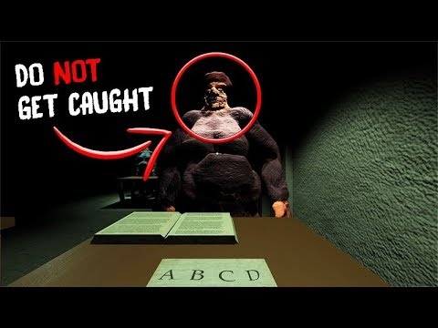 If she catches you CHEATING, YOU DIE    (DO NOT CHEAT) - Scary Teacher  Horror Game