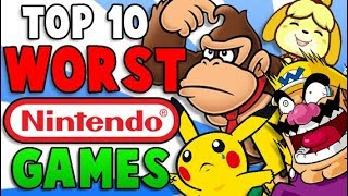 Top 10 Worst Nintendo Games - The Lonely Goomba