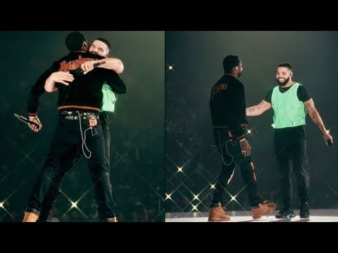 BEEF OVER! Drake Ends Beef With Meek Mill! Brings Him On Stage In BOSTON! THE TWO HUG & TEASE MUSIC!