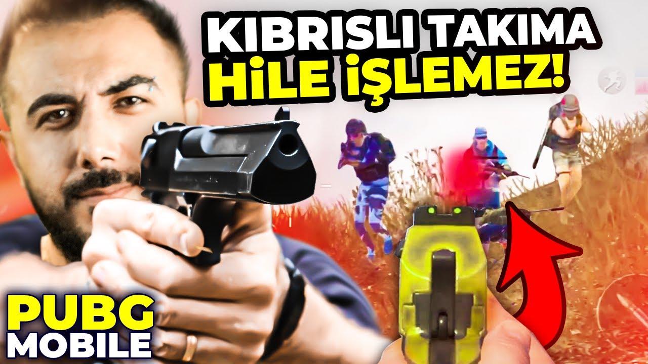 DESERT EAGLE İLE NOKTA ATIŞLARI!! KIBRISLI TAKIMA HİLE  İŞLEMEZ!! (30+ KİLLS) | PUBG Mobile