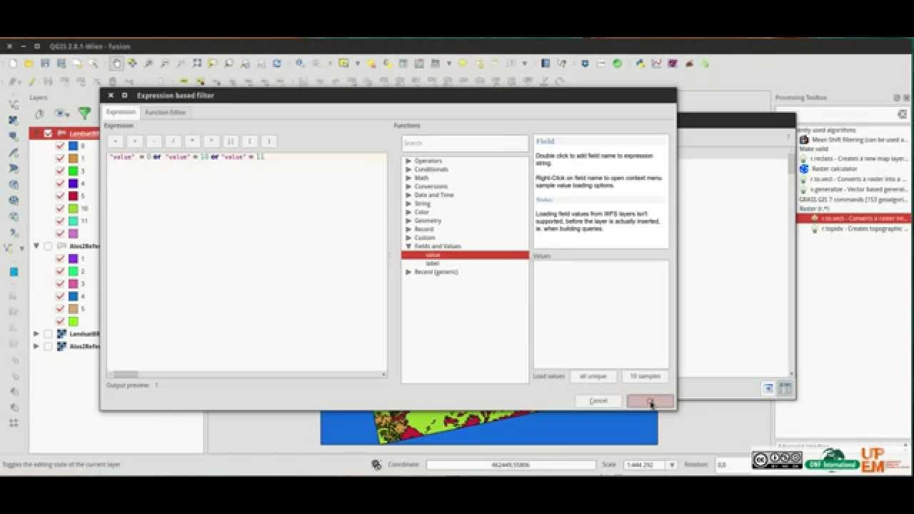 Tutorial - Qgis select and erase vector features