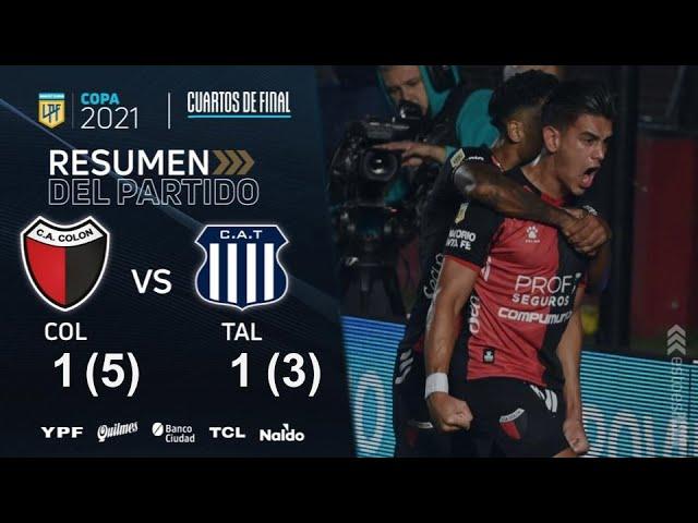 Copa De La Liga | Cuartos de Final | resumen de Colón - Talleres