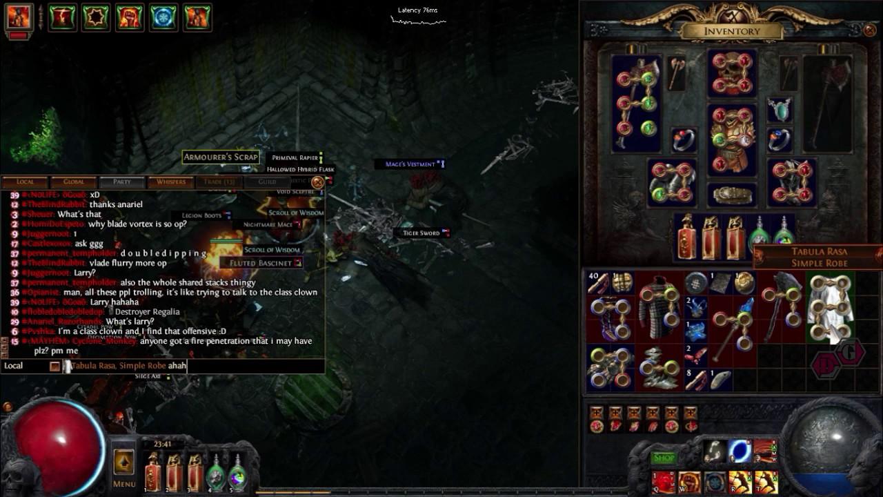 Path of Exile 2.5 breach league- Tabula rasa unique lucky DROP :D ...