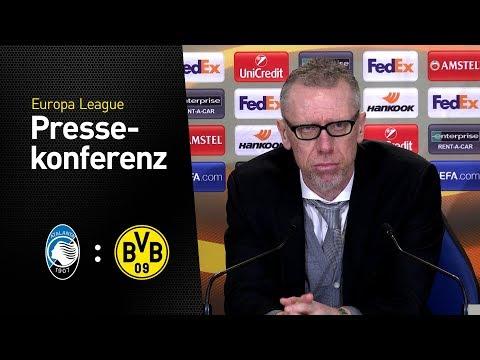 Peter Stöger: Hatten uns mehr vorgenommen | Atalanta Bergamo - BVB 1:1