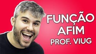 Função Afim - Matemática - Prof. Diego Viug