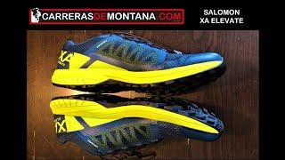 SALOMON XA ELEVATE: Zapatillas trail terreno técnico duro. Análisis por Mayayo.