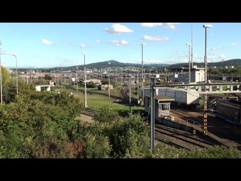 Trains At Hump Yard