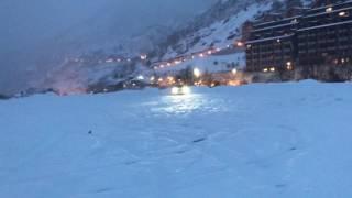 audi a3 tfsi quattro snow drifting