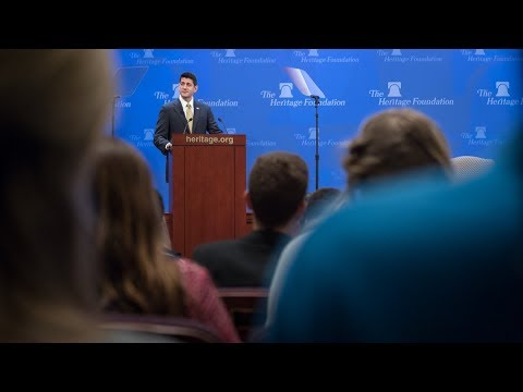 Speaker Ryan's Tax Reform Address at The Heritage Foundation
