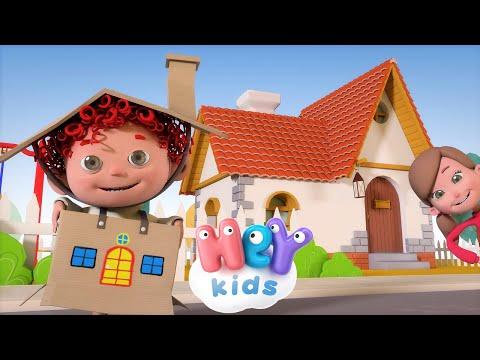 A dombon van egy házikó 🏠 Gyerekdalok és mondókák - HeyKids thumbnail