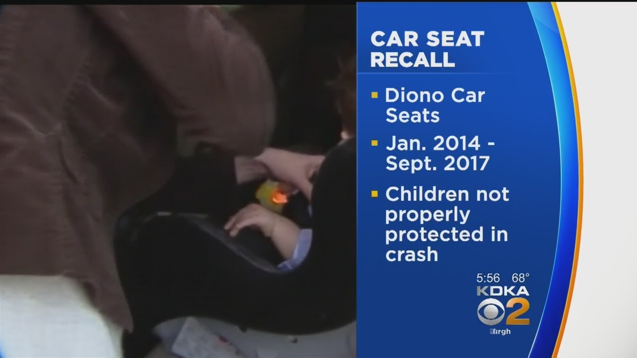 Diono Car Seats Recalled Over Safety Concerns