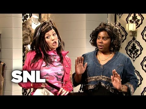 Virginiaca Shops for a Beaded Skirt - SNL