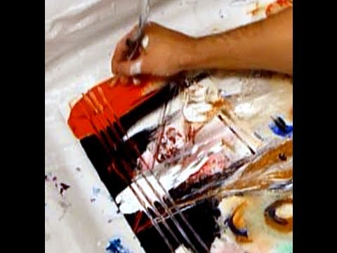 Abstract Art Painting Ideas, Techniques, Tips, Tricks and Tools