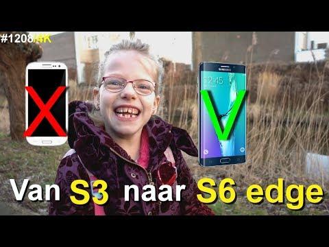Van S3 naar een S6 Edge mobieltje | Bobbi-lee Marijs | vlog #1208