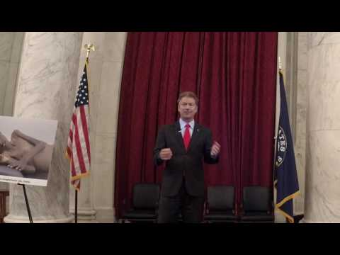Sen. Rand Paul Lecture to TFAS Students and D.C. Interns