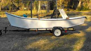 Backyard Build Of A Home Made Wooden Drift Boat
