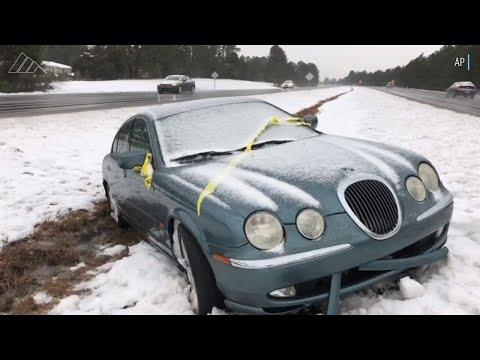 Winter Storm Diego wreaks havoc across NC