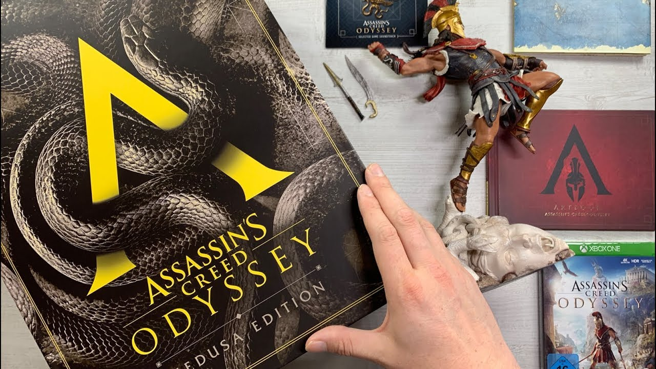 Unboxing The Assassin S Creed Odyssey Medusa Edition Youtube
