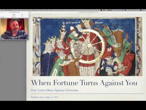 an analysis of evil in boethius