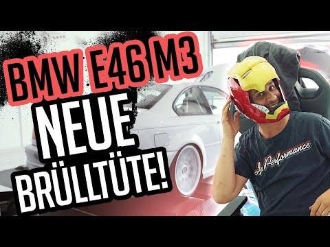 JP Performance - Die neue Brülltüte! | BMW E46 M3 | Abgasanlage + Prüfstand