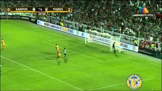 Santos Vs Tigres 2-2 Liguilla 2012 Semifinal Vuelta Resumen Hd 14-05-12