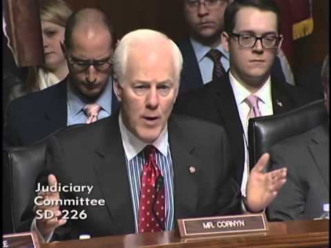Cornyn Demands Answers From AG Holder on Texans Targeted By The IRS