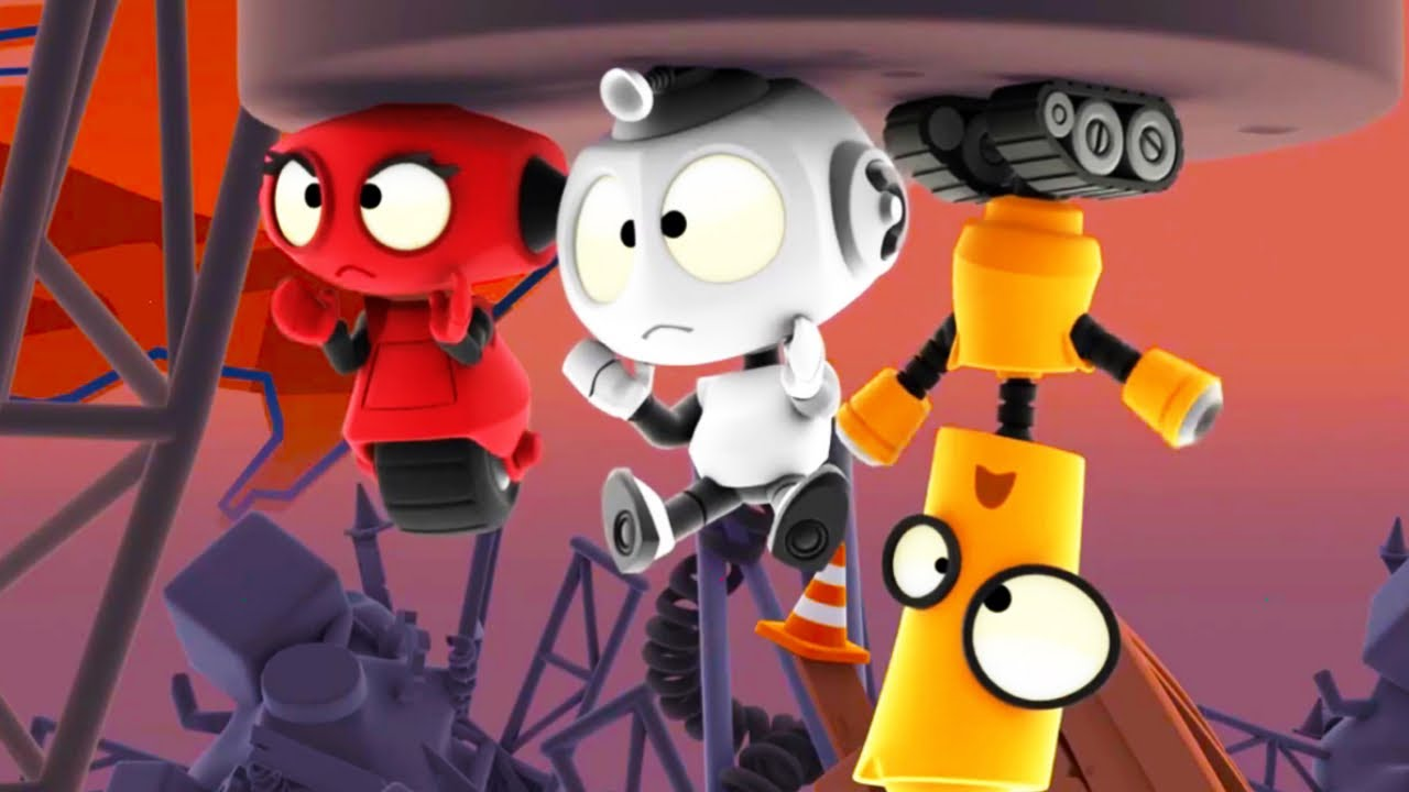 Magnet Trouble | Rob The Robot | Fun Cartoon Series