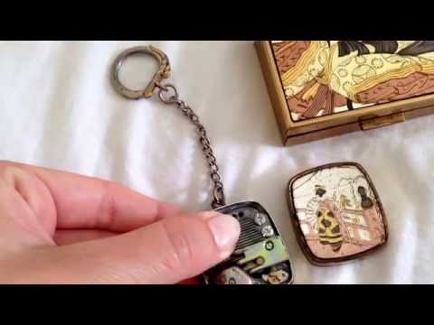 Japanese keychain music box