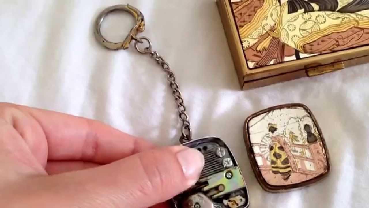 Japanese Keychain Music Box Youtube