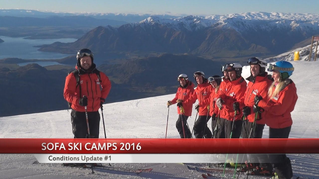 Lovely Klaus Mair   Sofa Ski Camps 2016, Conditions Update #1   YouTube