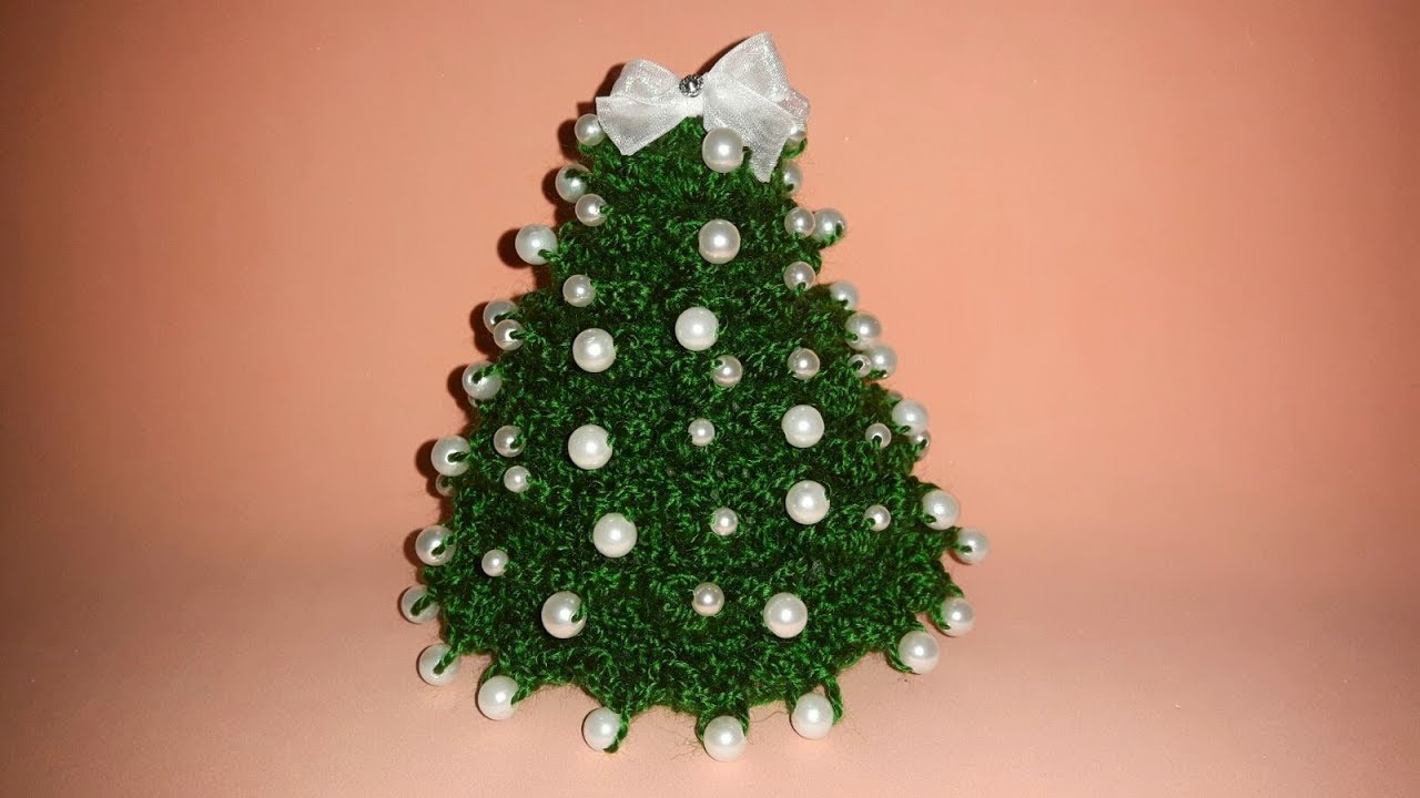 Albero Natale Uncinetto Tutorial Christmas Tree Crochet Arbol De