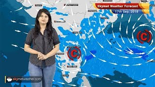Weather Forecast for Sep 17: Rain in Chennai, Bengaluru, Hyderabad