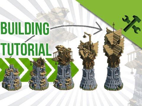HUGE Fantasy Wizard Tower - Build Tutorial [Advanced]