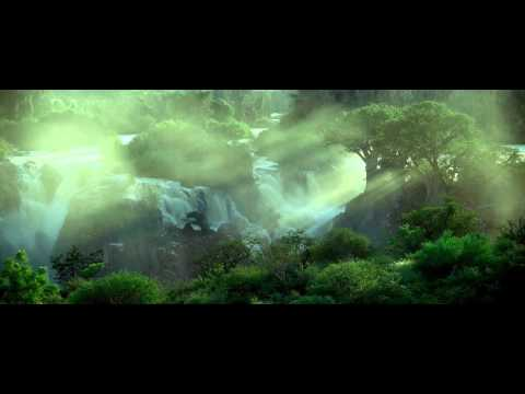 [10 Hours] African Waterfalls w/ Jungle Sounds [1080HD] SlowTV