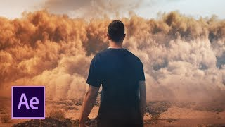 Epic DUST STORM VFX - After Effects Tutorial