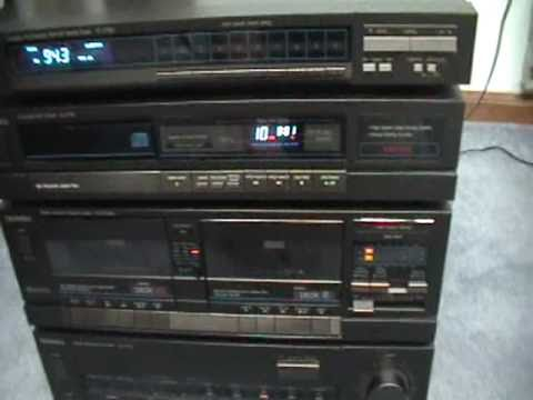 Complete Mint Technics Stereo System Youtube