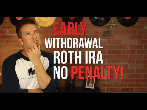 Early withdrawals from your Roth IRA with no penalty