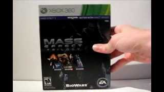 Mass Effect Trilogy Review + Unboxing (Xbox 360)