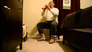 American Indian flute. Roshi Steven Rodriguez - Flute Music: Taino in Tennessee.