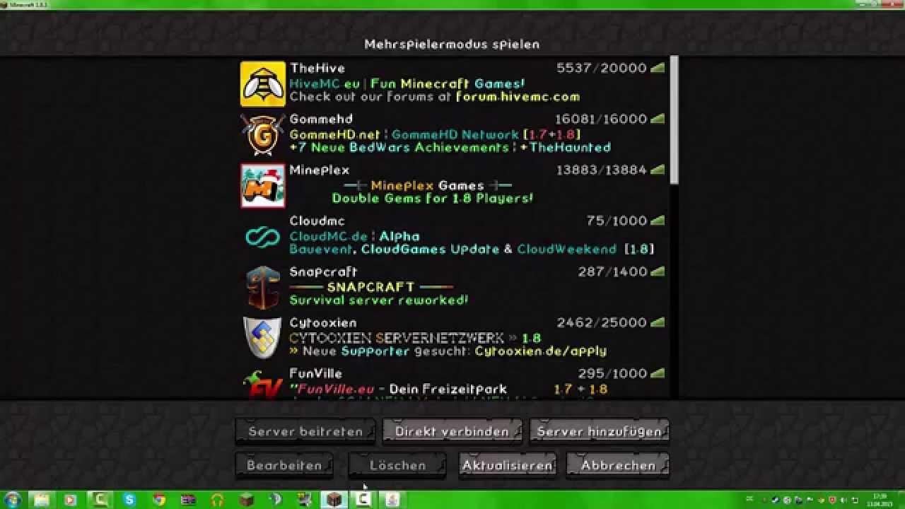 Minecraft Eigenes Server Bild Erstellen YouTube - Minecraft server icon erstellen gimp
