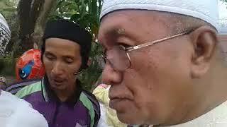 Kedatangan  GURU DANAU  di acara haul  habib hamid bahasyim basirih 2018