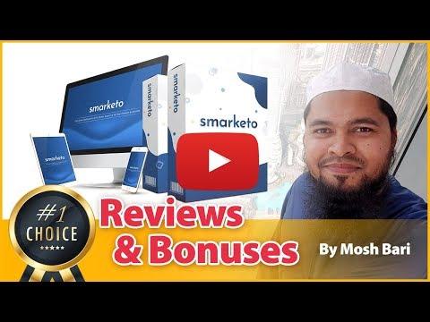 Smarketo Review and Bonus From Mosh Bari. http://bit.ly/2PkFIUU