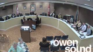 City Of Owen Sound June 9, 2014 Council Meeting